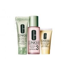 Clinique 3-Step Intro Kit Skin Type 3 1x50ml,1x100ml,1x30ml Set