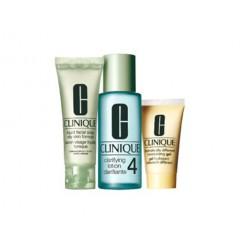Clinique  3-Step Intro Kit Skin Type 4 1x100ml, 1x50ml, 1x30ml Set
