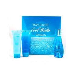 Davidoff Cool Water Women 1x100ml,2x75ml Giftset
