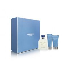 Dolce & Gabbana Light Blue Pour Homme  1x125ml/1x50ml/1x75ml Giftset