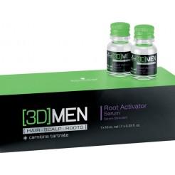 Schwarzkopf 3D Men Root Activator Serum 7x10ml Serum