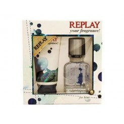Replay Your Fragrance! For Him 1x30 ml/1x50 ml Giftset