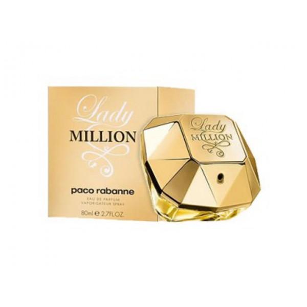 paco rabanne lady million 80 ml eau de parfum parfum. Black Bedroom Furniture Sets. Home Design Ideas