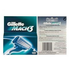 Gillette Mach 3 4-Pack 4-Pack Mach 3